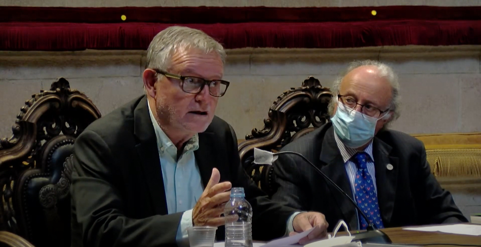 Presentació del llibre a la Reial Acadèmia de Medicina de Catalunya